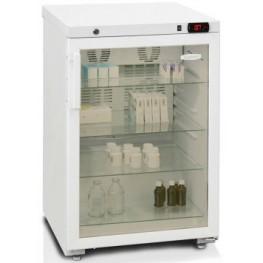 Фармацевтический шкаф Бирюса 150 (стеклянная дверь)