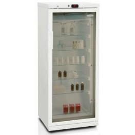 Фармацевтический шкаф Бирюса 250/6 (стеклянная дверь)