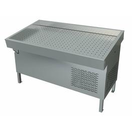 Прилавок холодильный  «Рыба-на-льду» ПХС-1,55/0,85