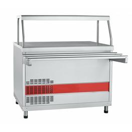 Прилавок-витрина холодильный ПВВ(Н)-70КМ-С-НШ (плоский стол)