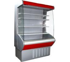 Витрины холодильные пристенные (горки)